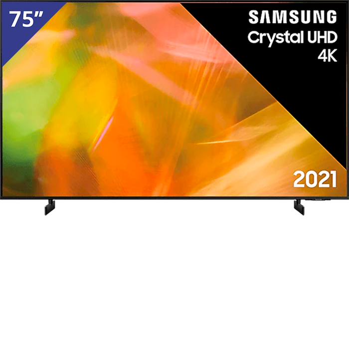 Samsung 75 inch/191 cm Crystal UHD TV
